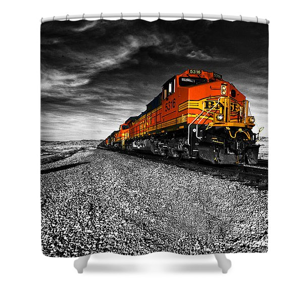 Power Of The Santa Fe  Shower Curtain