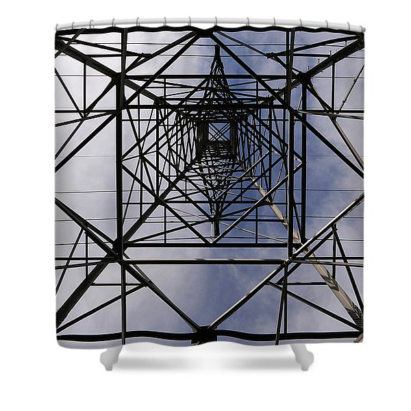 Power Up Shower Curtain