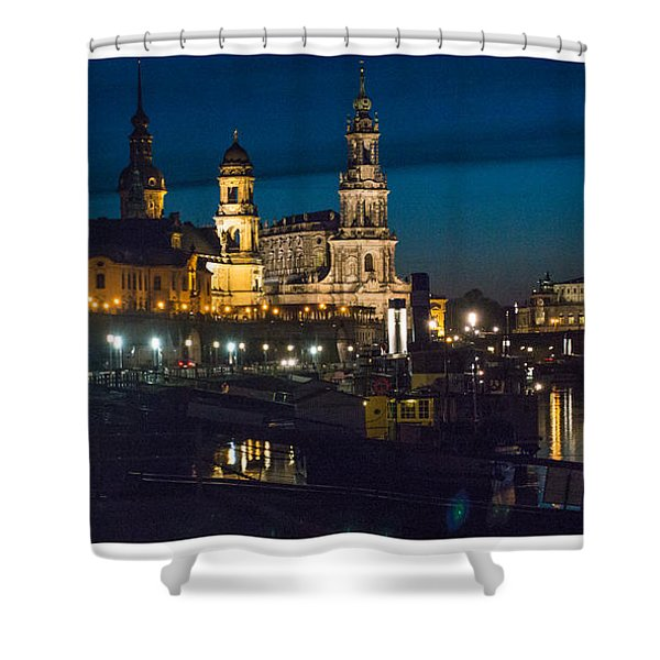 Dresden In Evening Shower Curtain