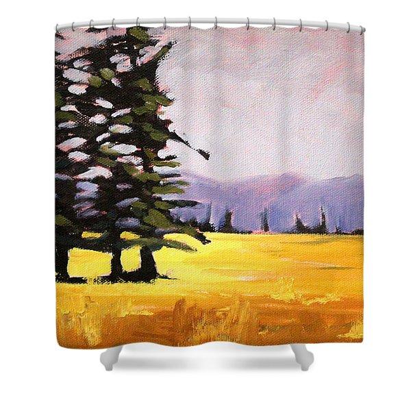 Prairie Pines Shower Curtain