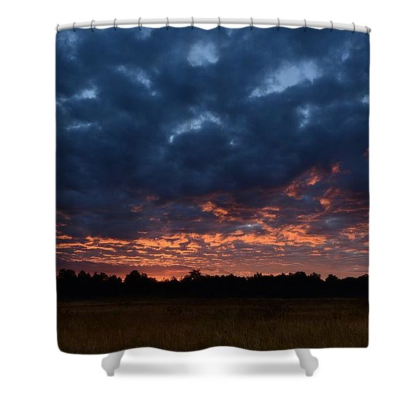 Prairie Sunrise Shower Curtain