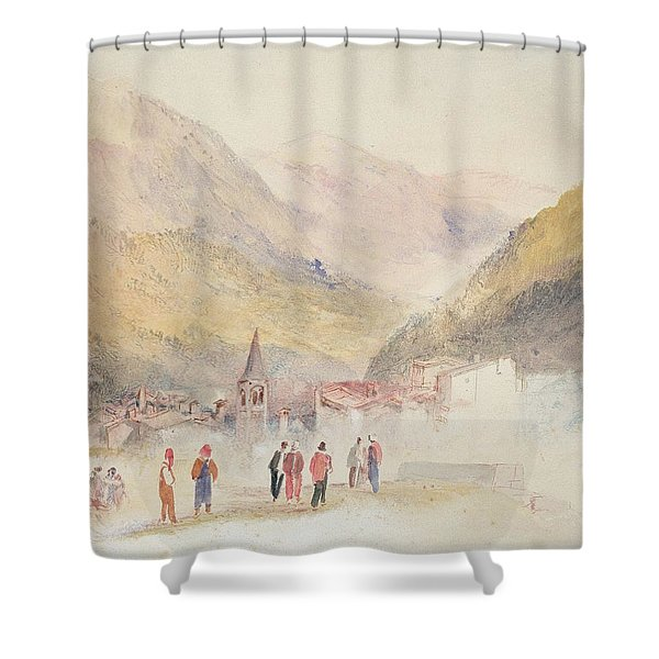 Pre St Didier, 1836 Shower Curtain