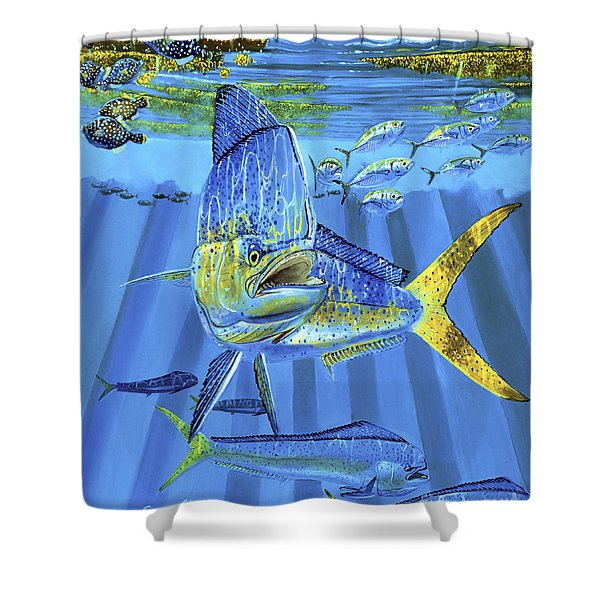 Predator Off0067 Shower Curtain