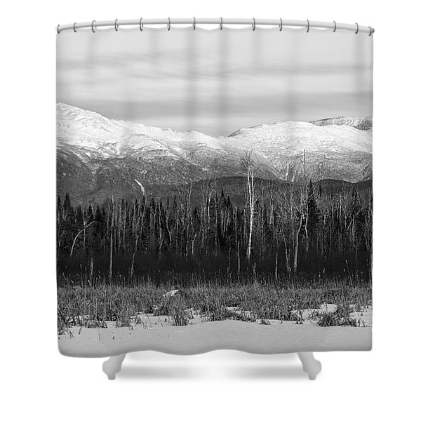 Shower Curtain featuring the photograph Presidential Range - Pondicherry Wildlife Refuge New Hampshire by Erin Paul Donovan