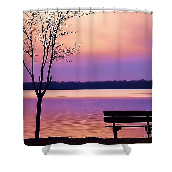 Presque Isle Solitude 11.12.12 Shower Curtain