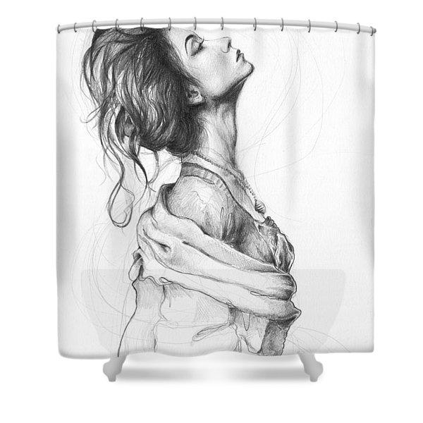 Pretty Lady Shower Curtain
