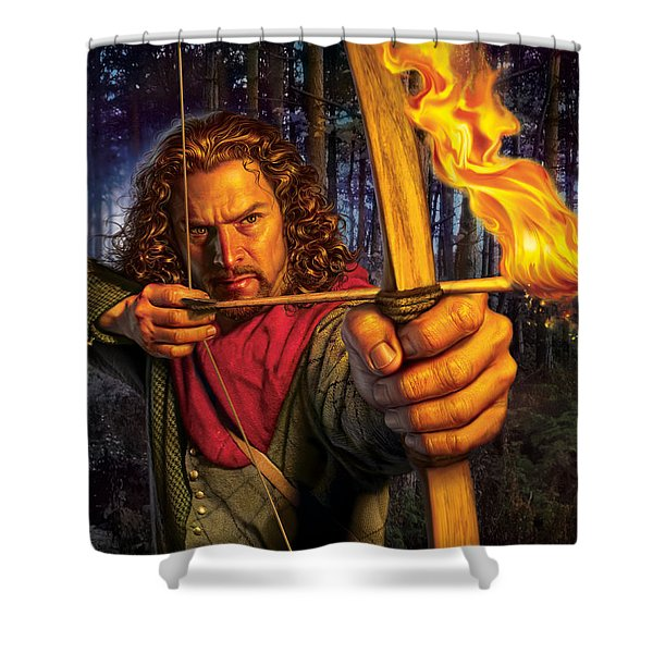 Prince Of Thieves  Shower Curtain