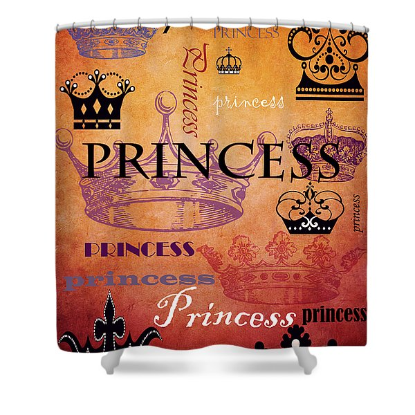 Princess 2 Shower Curtain