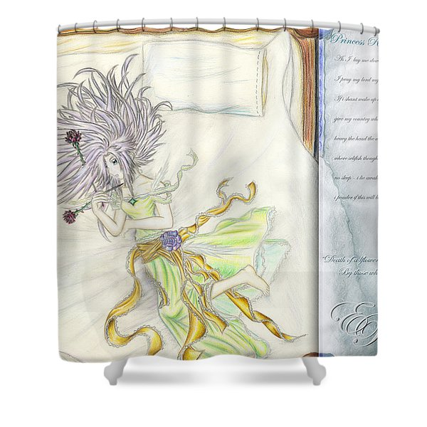 Princess Altiana Aka Rokeisha Shower Curtain