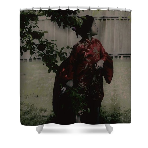 Princess Of Tranquility  Shower Curtain