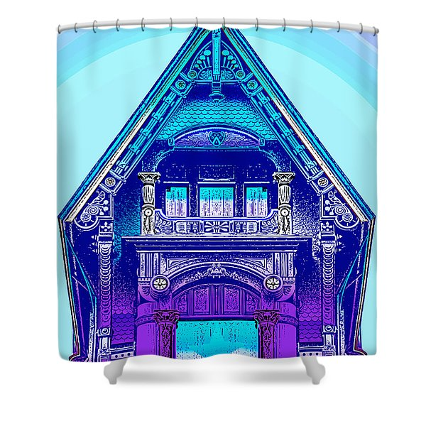 Victorian Gable Shower Curtain