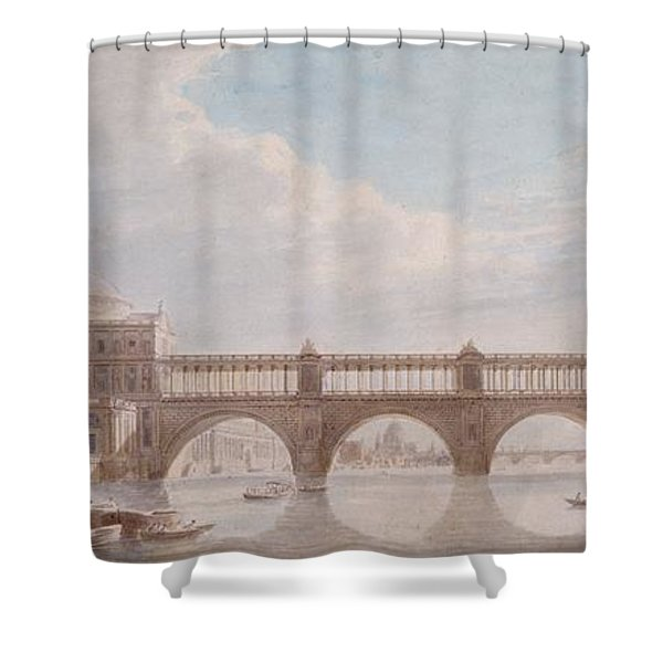Proposed Design For A Bridge Shower Curtain