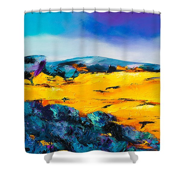 Provence Colors Shower Curtain