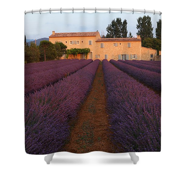 Provencal Villa  Shower Curtain