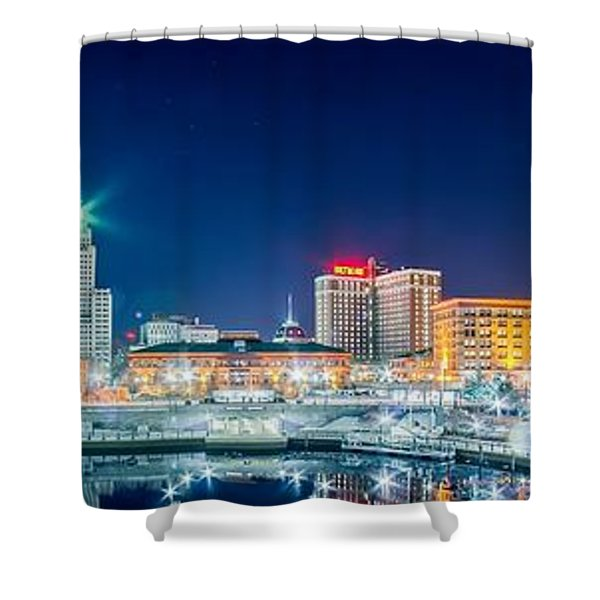 Shower Curtain featuring the photograph Providence by Alex Grichenko