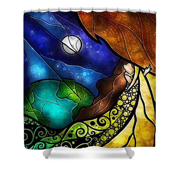 Psalm 91 Shower Curtain