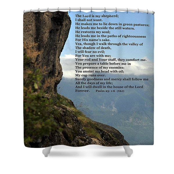 Psalm Of David Shower Curtain