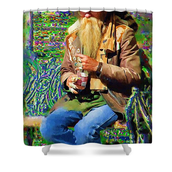 Psychedelic Day Dreams Shower Curtain