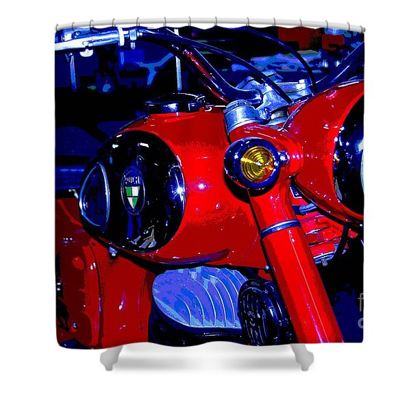 Puch Classic Shower Curtain
