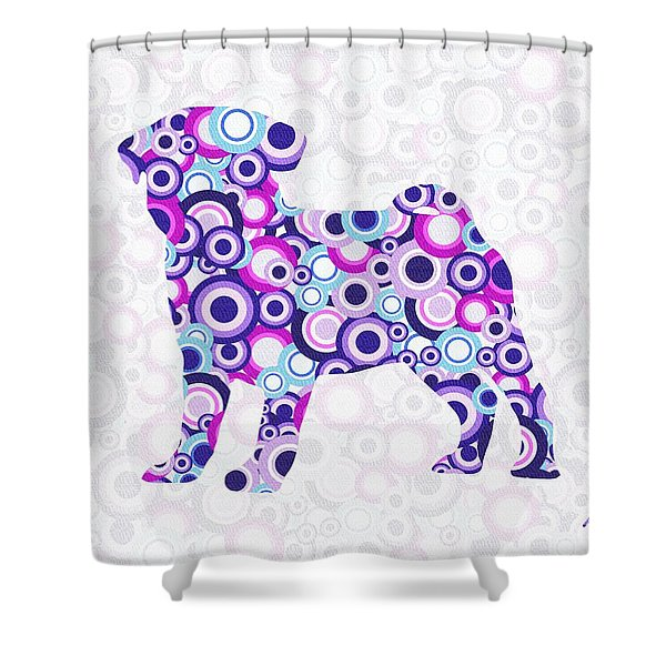 Pug - Animal Art Shower Curtain