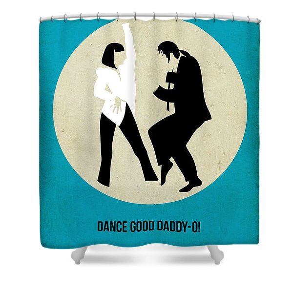 Pulp Fiction Poster 2 Shower Curtain