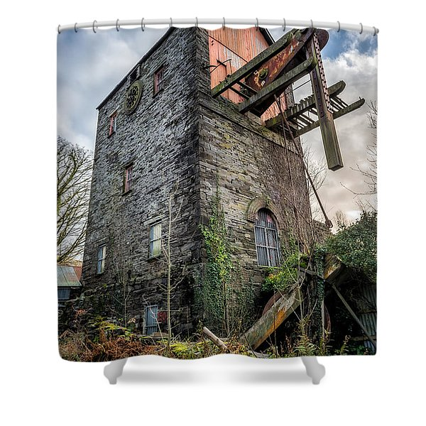 Pump House Shower Curtain