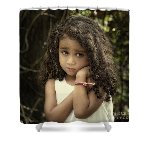 Purity Of Sadness Shower Curtain