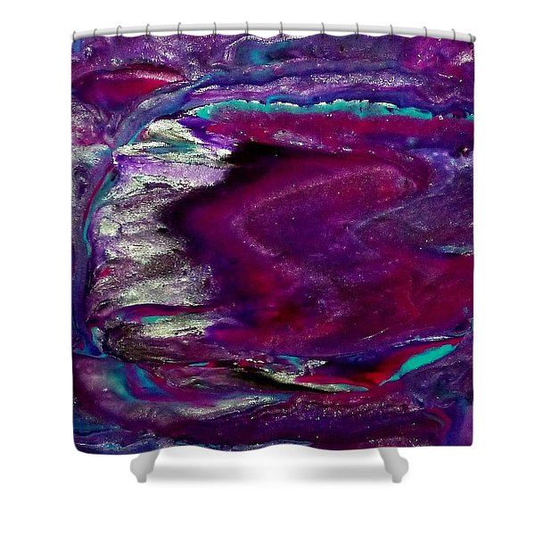 Purple Craze Shower Curtain