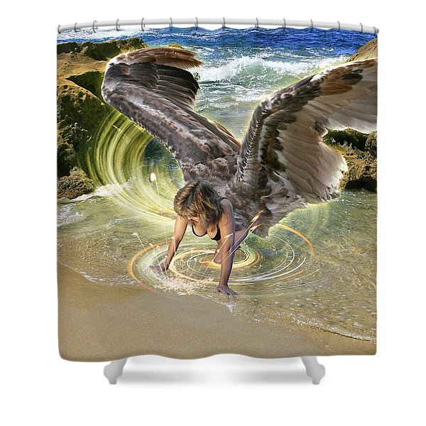 Put Your Trust In Him Shower Curtain