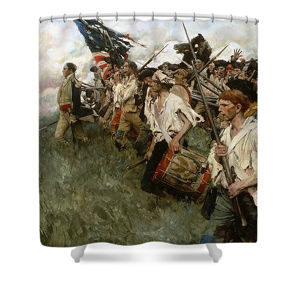 Pyle: Nation Makers, 1906 Shower Curtain