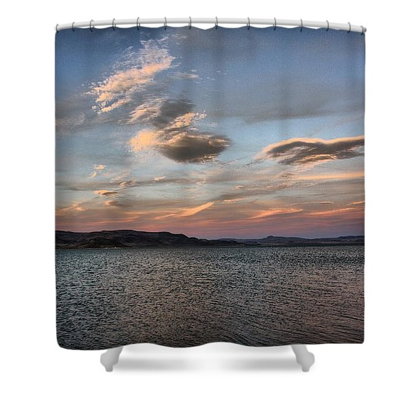 Pyramid Lake Shower Curtain