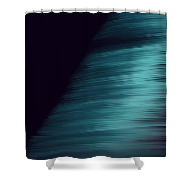 Pyramid Of Ice Shower Curtain