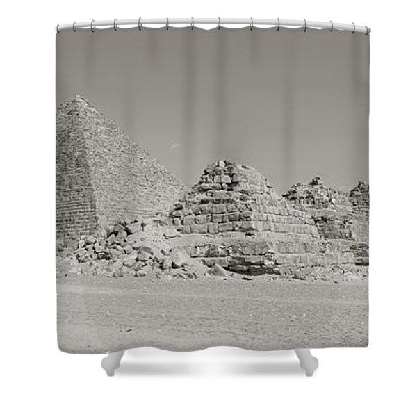 Pyramids Of Giza, Egypt Shower Curtain