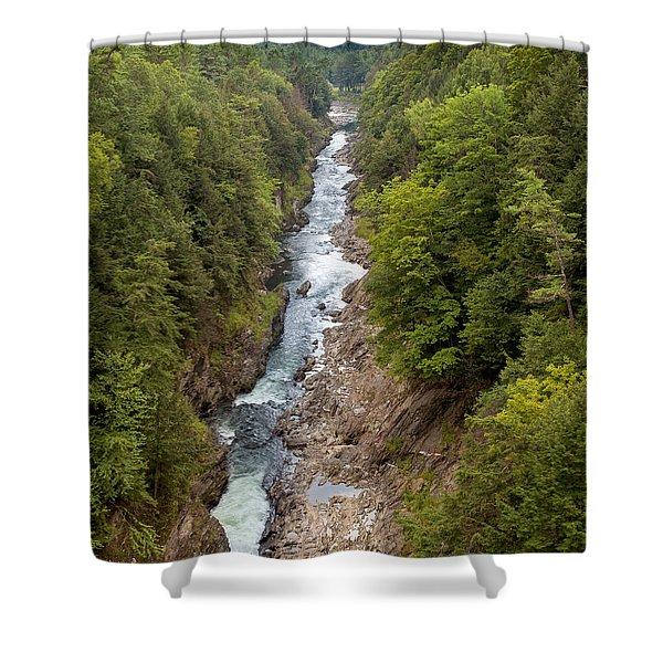Quechee Gorge State Park Shower Curtain