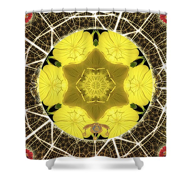 Queen Bee-nectar Of Life Shower Curtain