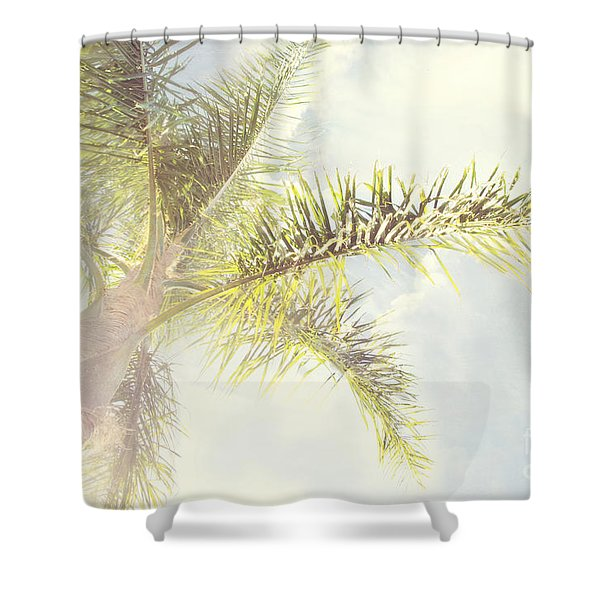 Queen Palm Shower Curtain