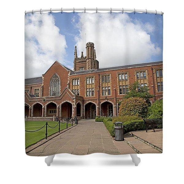 Queen's University Belfast Ireland Shower Curtain