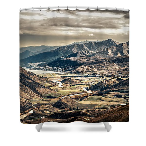 Queenstown View Shower Curtain