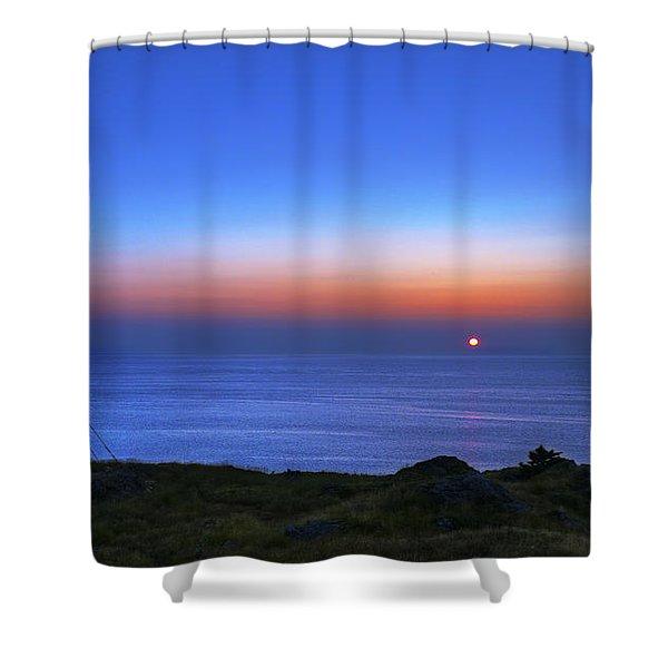 Quiet Morning.. Shower Curtain