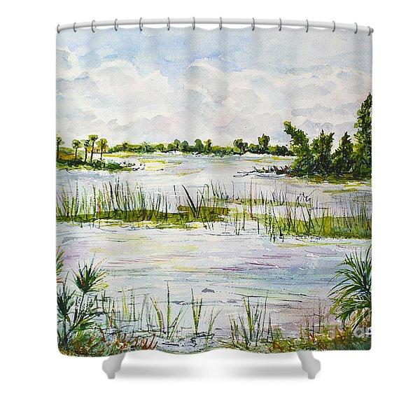 Quiet Waters Park Deerfield Beach Fl Shower Curtain