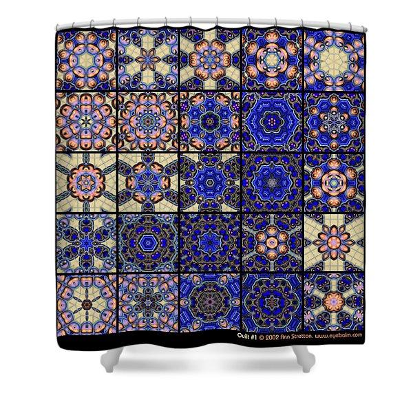 Quilt 1  Shower Curtain