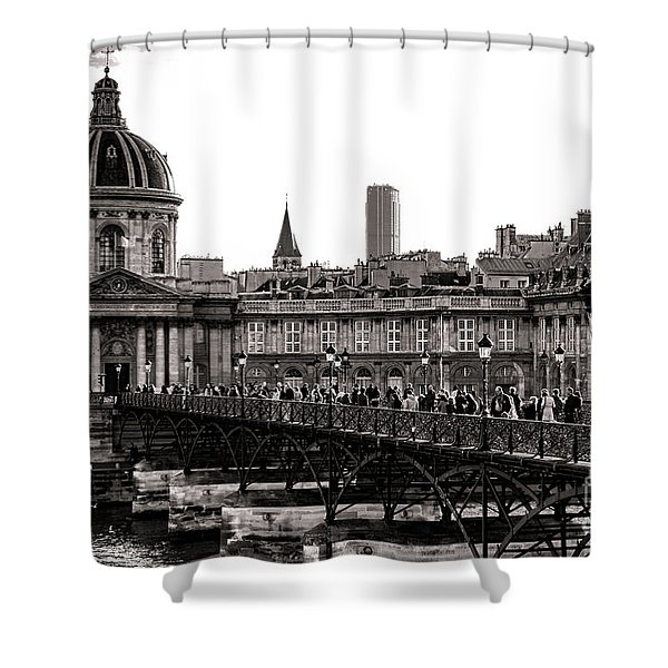 Quintessential Paris Shower Curtain