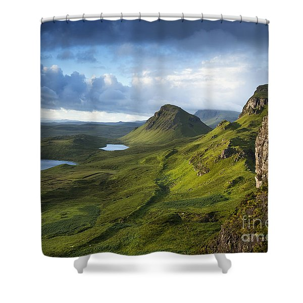 Quiraing Dawn Shower Curtain