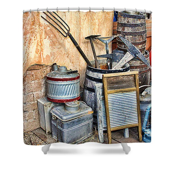 Quitting Time By Diana Sainz Shower Curtain