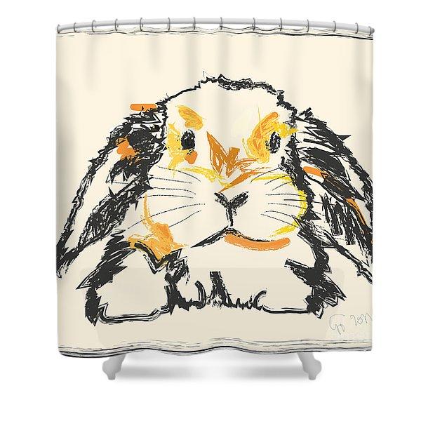 Rabbit Jon Shower Curtain