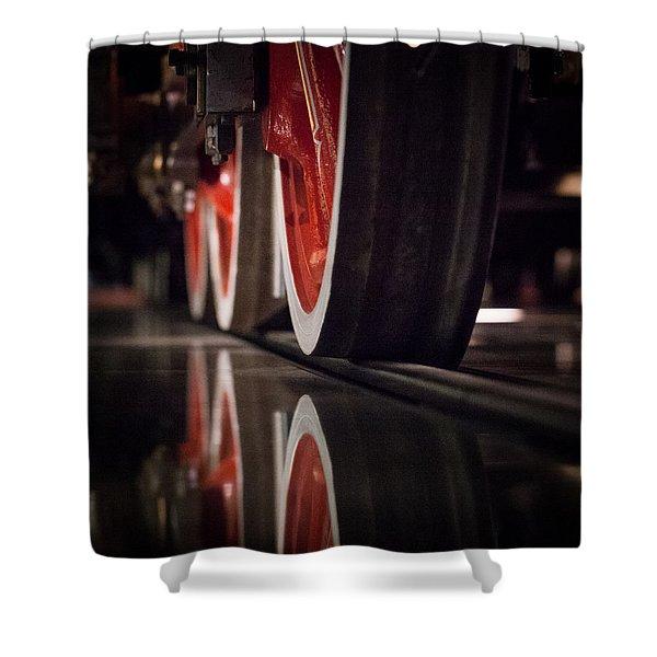 Railway Shower Curtain