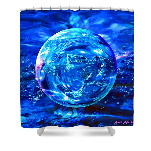 Rain Dance  Shower Curtain