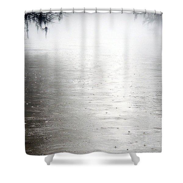 Rain On The Flint Shower Curtain