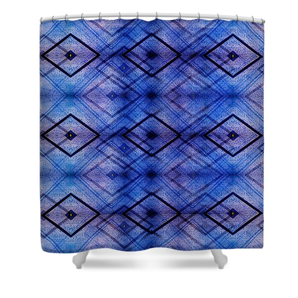 Raindrops On Car Pattern Shower Curtain