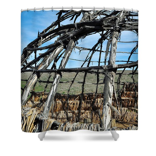 Rancho Sierra Vista Satwiwa Chumash Ap Home Shower Curtain
